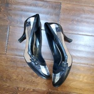 Burberry Nova Check Heels